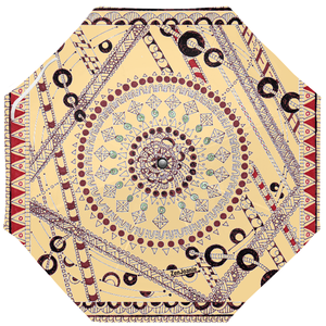 "Zentangle Umbrellas - ""Pillow Talk"" hand drawn by ZenJoanie"
