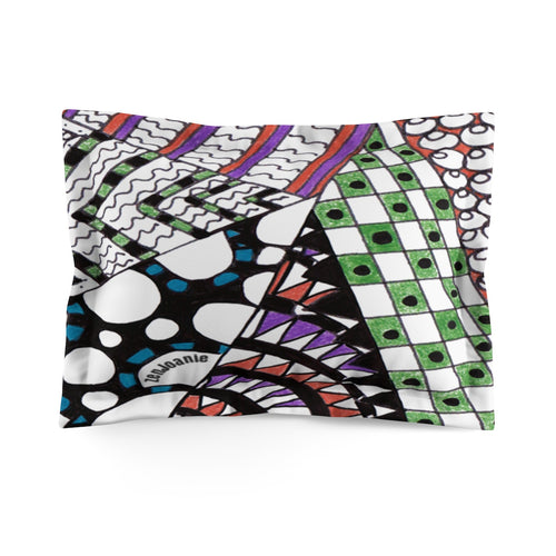 Zentangle Pillow Sham -