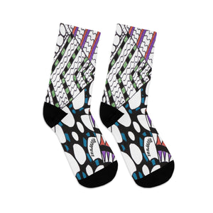 DTG Socks by ZenJoanie - Angles Design