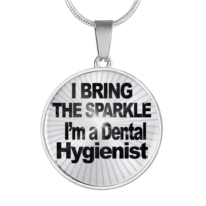 Dental Hygienist Bracelet - Dental Hygienist Necklace - Dental Hygienist Gifts - Digital Art by Paul