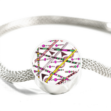 """Which Way"" hand drawn by ZenJoanie - Zentangle Bracelet"