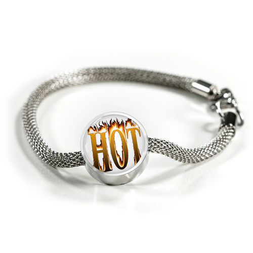 Hot Charm Bracelet - Digital Art by Paul
