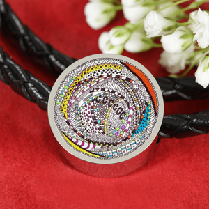 """RoundAbout"" hand drawn by ZenJoanie - Zentangle Charm Bracelet"