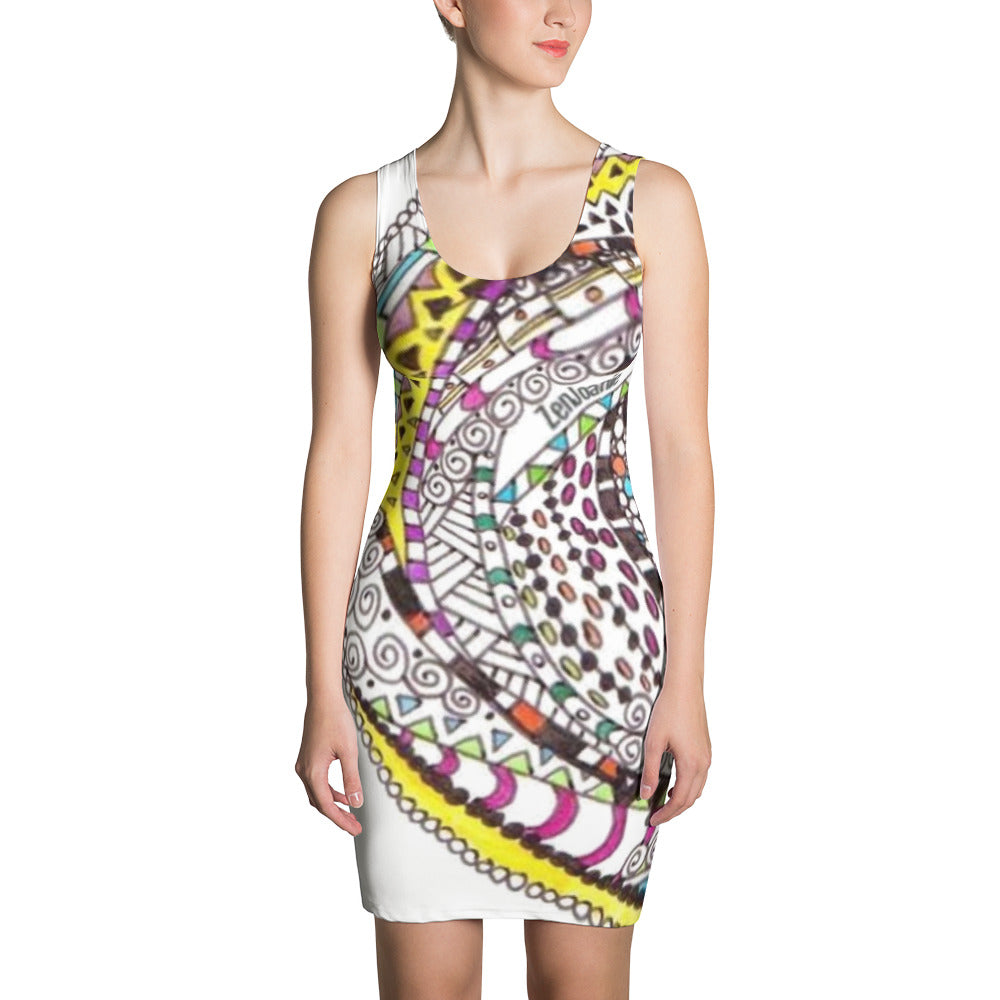 Zentangle Dress -