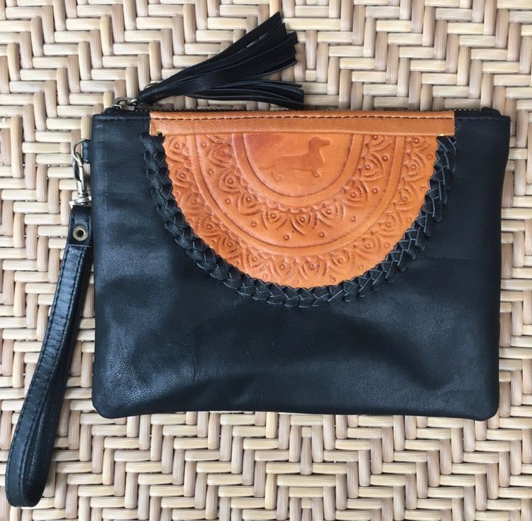 LD Mandala Clutch - Black