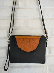 LD Mandala Bag/Clutch - Black