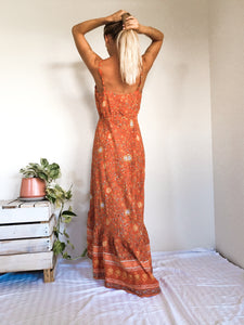 Mila Dress - Rust