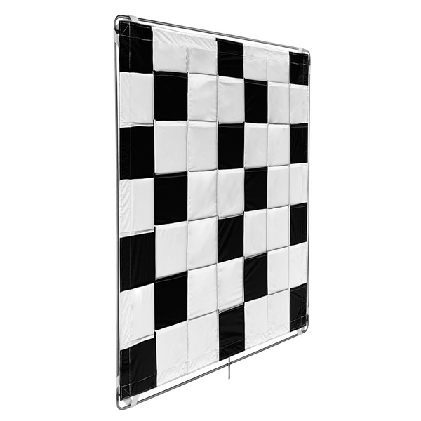 Black/White Slip-on Shinyboard Reflector (BWCBRSOSB4848)