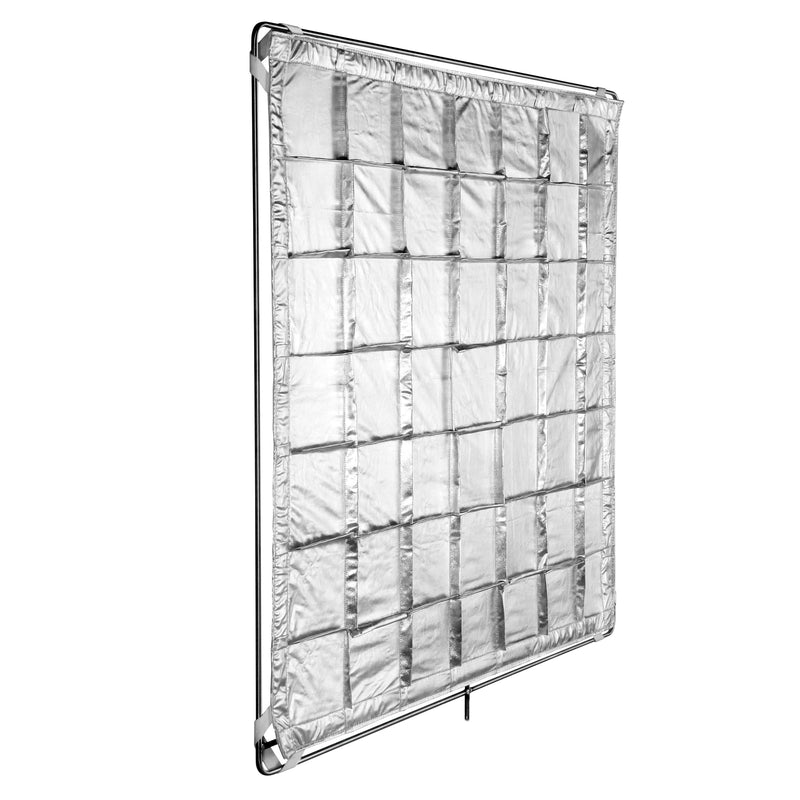 Silver Slip-on Shinyboard Reflector (SRSOSB4848)