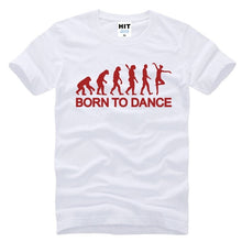 Load image into Gallery viewer, Men's Short Sleeve Ballet Evolution Born To Dance Ballet Dance