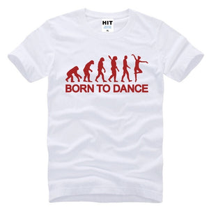 Men's Short Sleeve Ballet Evolution Born To Dance Ballet Dance