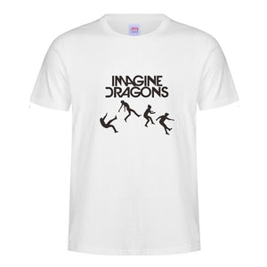 The 2017 new summer round lead mystery band Imagine Dragons short-sleeved T-shirt independent rock and roll alternative rock rep