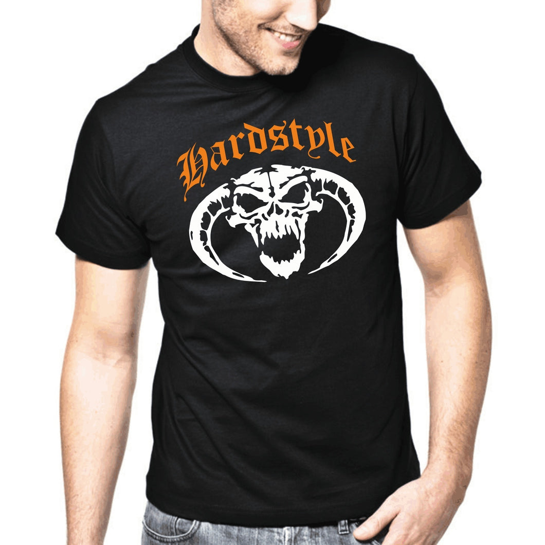 Cool Men Hardstyle Skull | Gabber | Hardcore | Totenkopf | Music | DJ | S-3XL T-Shirt