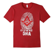 Load image into Gallery viewer, Fashion Mason Is My Dna Mens Cotton Casual T-shirt Popular