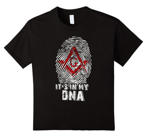 Fashion Mason Is My Dna Mens Cotton Casual T-shirt Popular