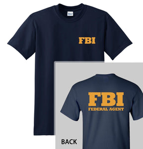 FBI T-SHIRT - Graphic Tee Cool Tops O Neck T Shirts for Men