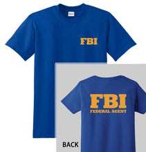 Load image into Gallery viewer, FBI T-SHIRT - Graphic Tee Cool Tops O Neck T Shirts for Men