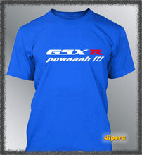Load image into Gallery viewer, Men's T-shirt Customised GSX-R Powaaah S M L XL XXL XXXL