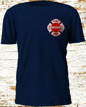 Load image into Gallery viewer, New Chicago Firefighter Department Backdraft Engine 17 Fire Navy T-Shirt S - 3XL