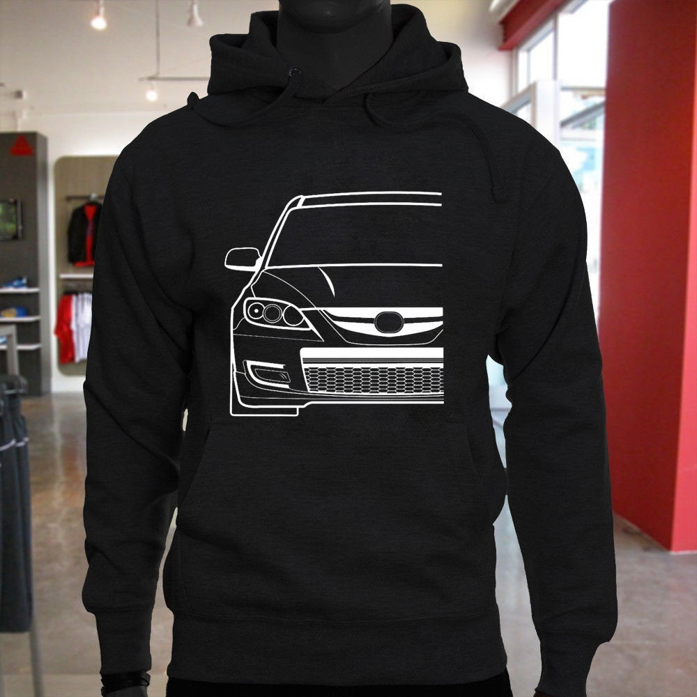 High Quality Mazda Inspired Hoodie Men