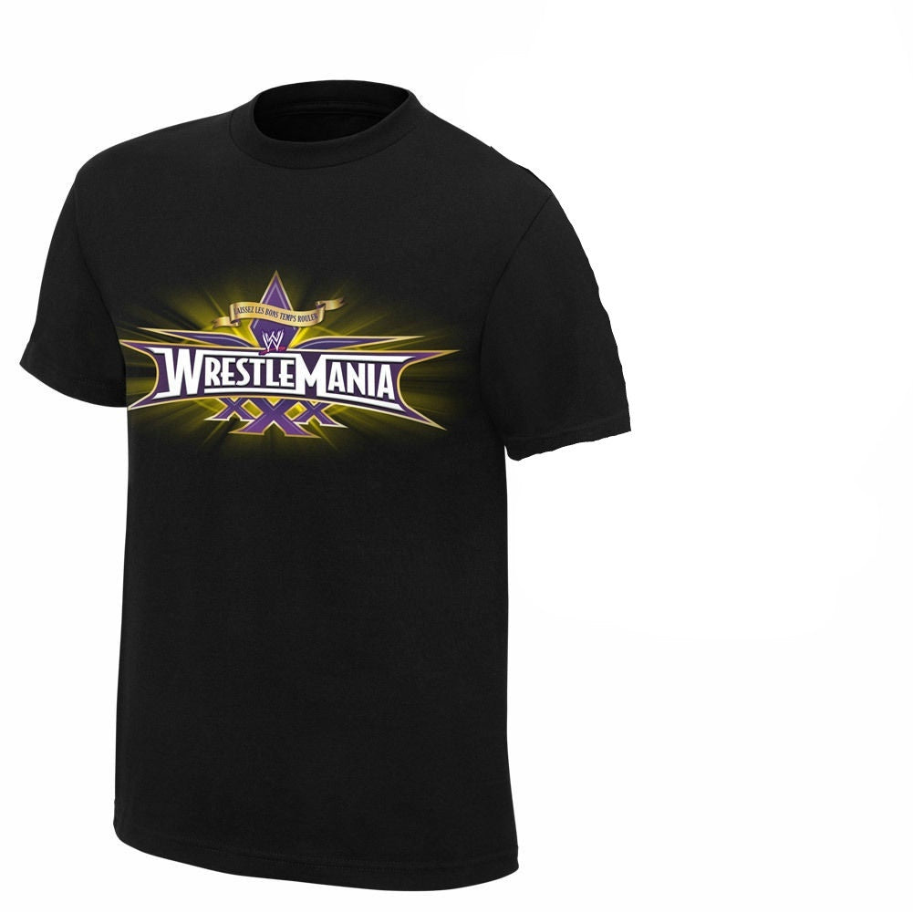 Wrestlemania T Shirt I Was There Men's Round Neck Short Sleeves Cotton T-shirt