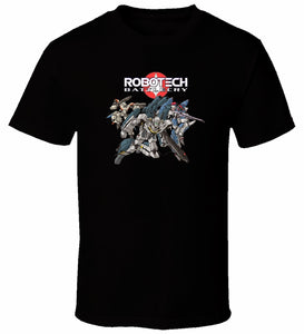 Robotech Battlecry 4 Tee Shirt Print T Shirts For Man Casual Short Sleeves