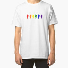 Load image into Gallery viewer, Billie Eilish Rainbow Printing Men Casual T-shirt Short Sleeve Summer Cotton Tee Tops
