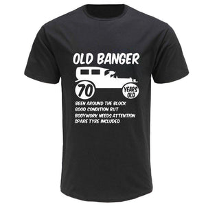70th Seventy Mens Age 70 Birthday Funny T-shirt Size S-3xl