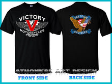 Load image into Gallery viewer, Victory Motorcycles Polaris Freedom Cruiser 106 Men's T-shirt