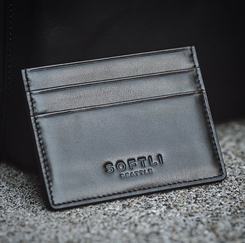 SOFTLI Leather Card Holder - SOFTLI