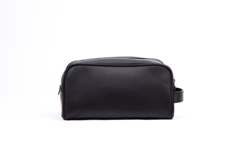 SOFTLI Leather Toiletry Bag