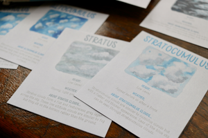 Clouds- Fact Cards