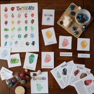 Gemstones- Full Nature Guide
