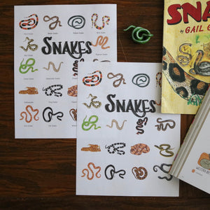 Snakes- Art Posters