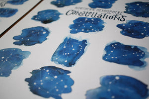 Constellations- Art Posters