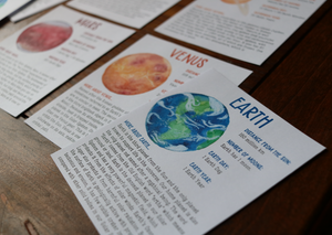 Solar System- Fact Cards