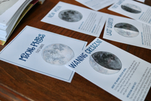 Load image into Gallery viewer, Moon Phases- Fact Cards