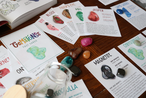 Gemstones- Fact Cards