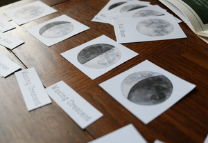 Moon Phases- Mini Cards