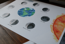 Load image into Gallery viewer, Moon Phases- Art Posters