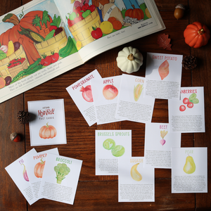 Autumn Harvest Fact Cards