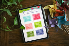 Load image into Gallery viewer, Digital Homeschool Organizer: Spring Bubbles Theme
