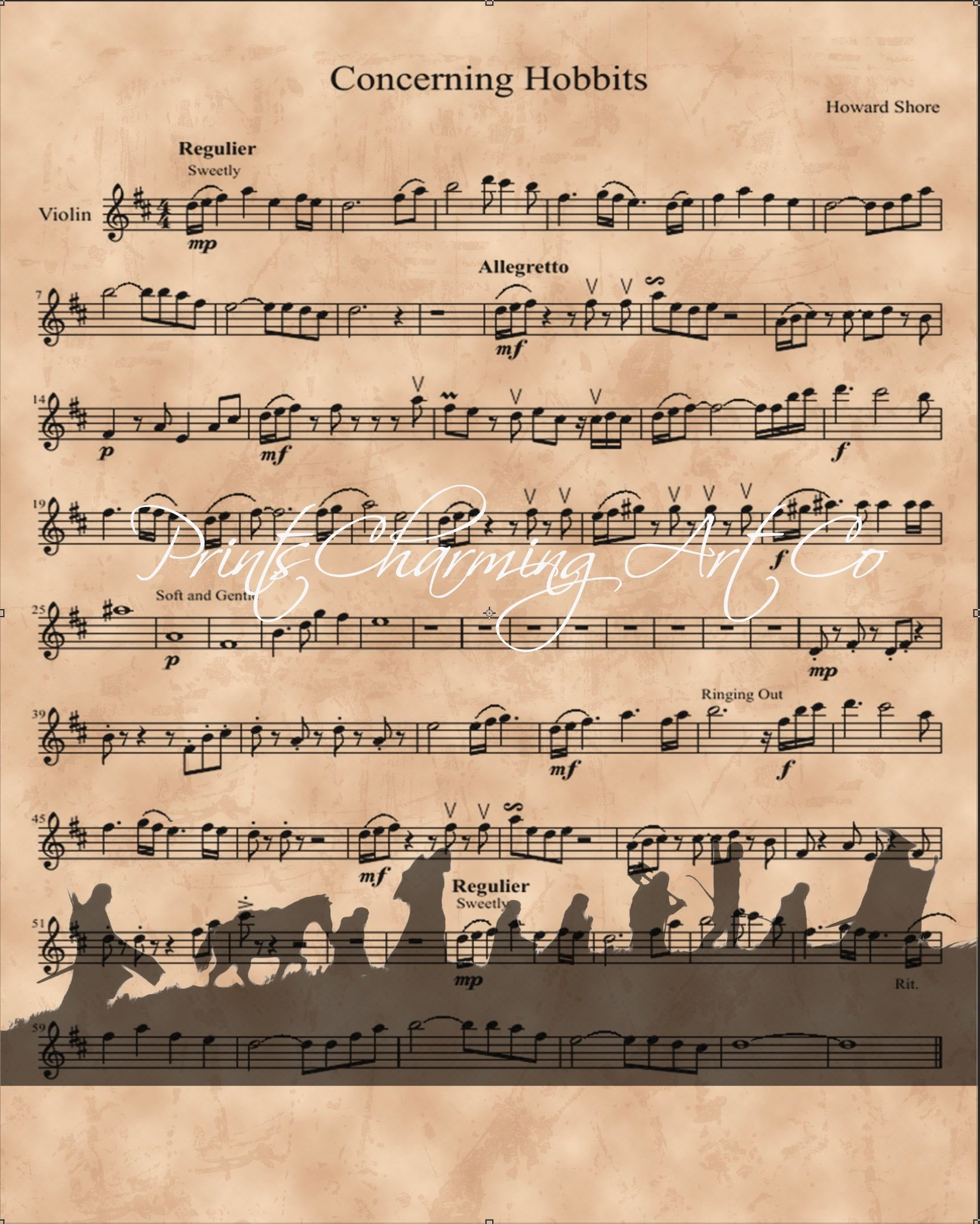 Lord Of The Rings Theme Uke Tab By Howard Shore Music