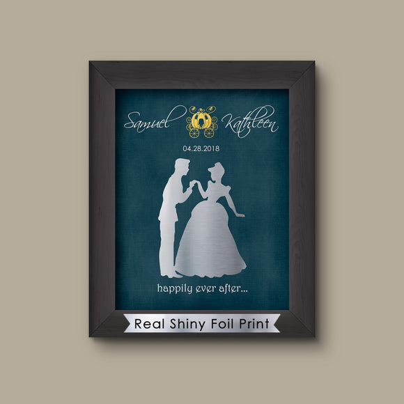 Disney Cinderella Wedding, Disney Wedding Gift