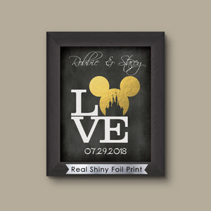 Disney Wedding Gift, Disney Ears