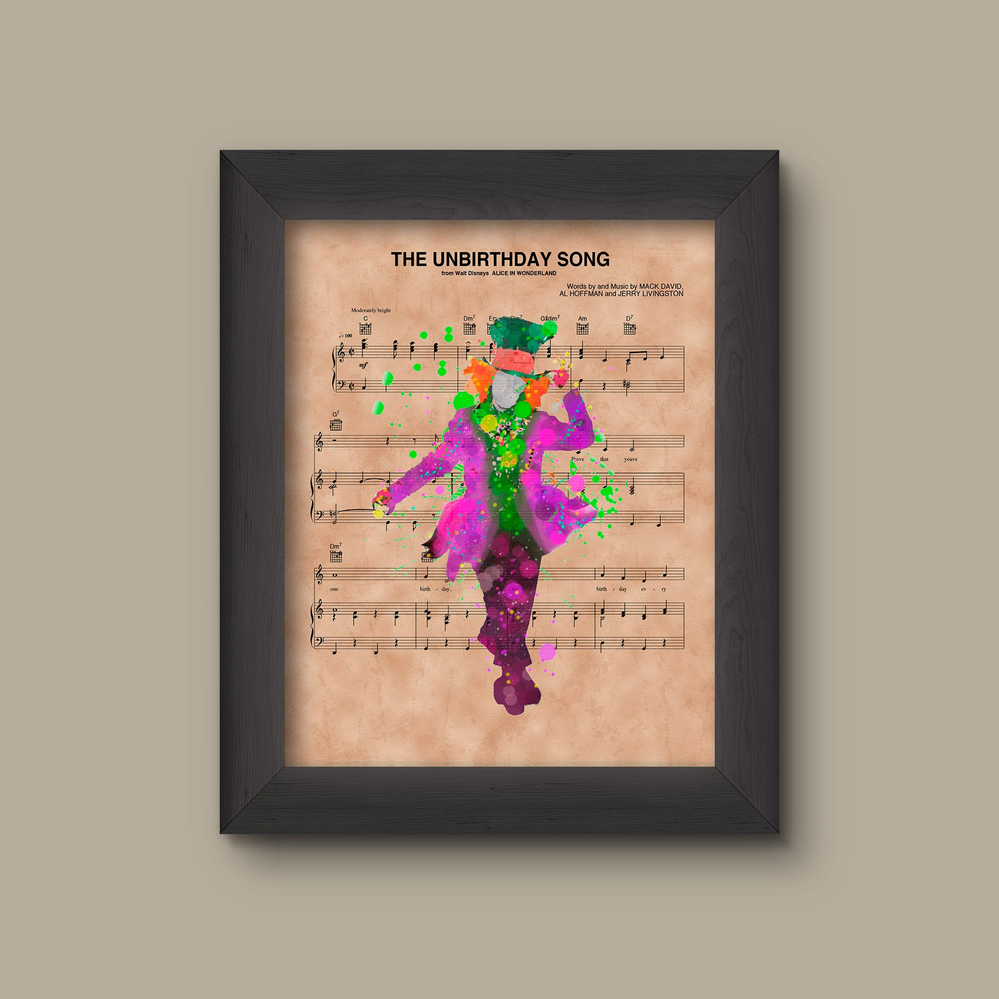 mad hatter wonderland sheet music pdf