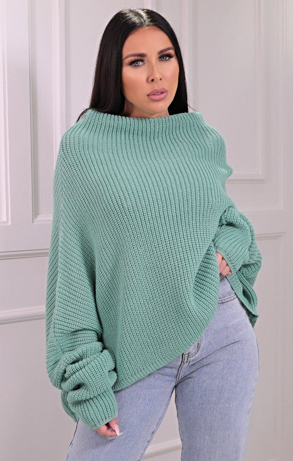 Mineral Knitted Oversized Jumper - Brea