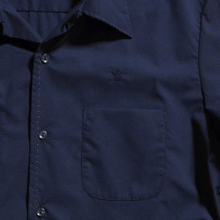 Mr. California - Short Sleeve Button-Up Shirt -The Coronado - Embroidery Detail