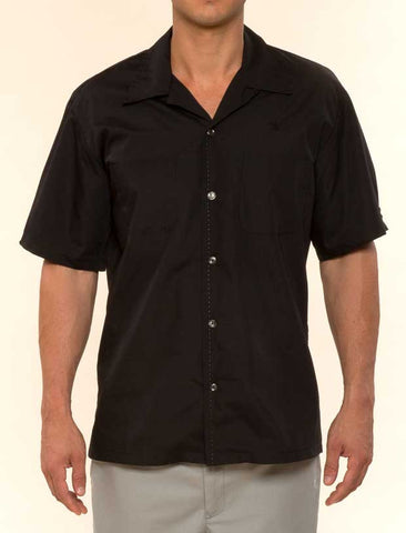 Mr. California - Short Sleeve Button-Up Shirt -The Coronado - Front View
