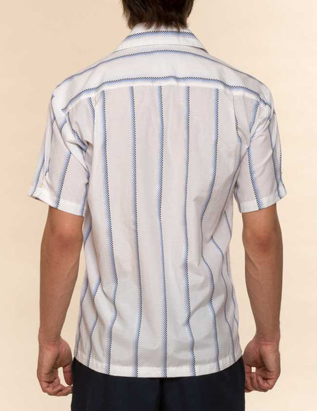Mr. California - Men's Short Sleeve Button Up Shirt - The Stockton - Back View